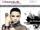 Screenshot: Online Fashion Dealer - 24brands.de