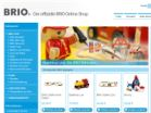Screenshot: BRIO Online-Shop