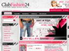 Screenshot: Clubfashion24 - Clubwear & Streetwear Fashion Outl