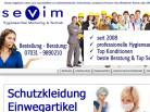 Screenshot: Sevim Shop Hygieneartikel